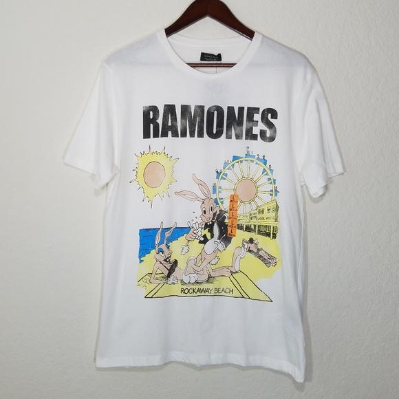 5825221f Zara Shirts | Nwt Man Ramones Graphic Tee Size L | Poshmark